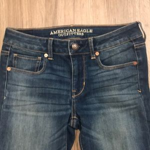 AEO Super Stretch Skinny Jeans Size 4